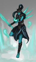 Kalista, the Spear of Vengeance by tiagorcp
