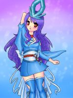Suicune Gijinka by Shourei