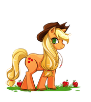 MLP: Applejack by Innerd