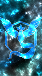 Team Mystic background by booshippl