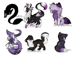 Mystery adopts (open) by Silversadopts