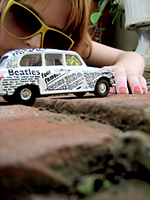 Newspaper Taxi's Appear. by ohindiegirl
