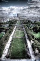 city of paris hdr by Anestis9985