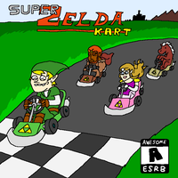 Super Zelda Kart by doodlegarmander