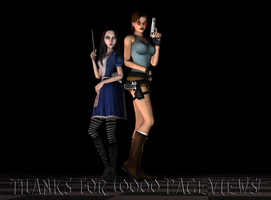 Two Classic Ladies by tombraider4ever
