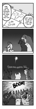 Wolf Country: Fireworks by Pandadrake