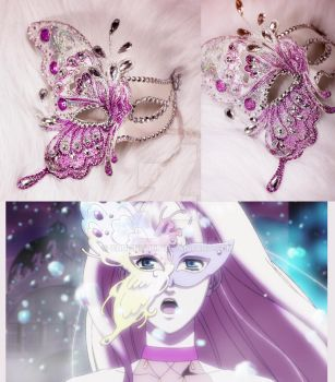 Sheryl Nome's mask Diamond Crevasse version) by chuongtu