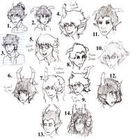 Fantroll Portraits/Sketches by AerialNavigation