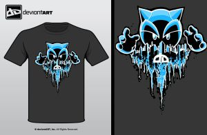 DeviantWear Design Battle2 by MetalSlime18