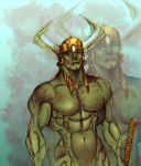 Orc Master Sergeant by Selkirk (COLORS) by carol-colors
