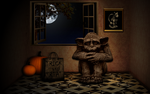 Sorry - No Candy for Gargoyles by KenSaunders