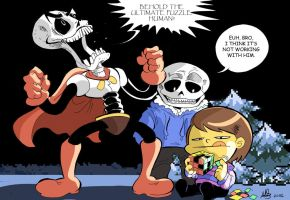 Papyrus Puzzles are overrated. by mariods