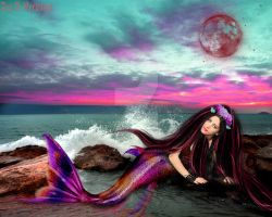 Mermaid girl by annemaria48
