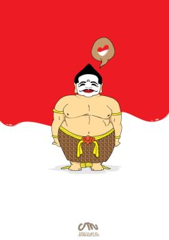 semar loved indonesia by s-art-m