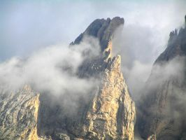 Clouds around the Tooth by edelweiss26