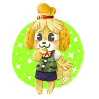 Isabelle/Canela/Shizue by Agui-chan