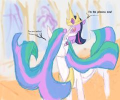 Twilight's coup d'etat color finished-ished by d715