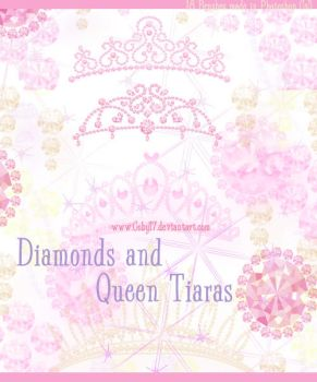 Diamonds and Queen Tiaras Brus by Coby17