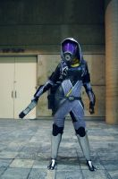 Tali'Zorah Full Shot by Haganegirl
