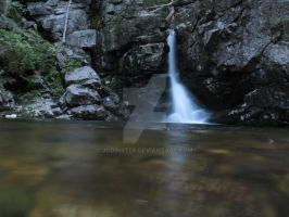New Hampshire Waterfall by JCoinster