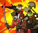 Team Fortress 2 fans by Ritualist