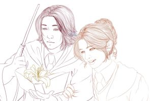 That's beautiful, Severus... by Tsuki-Yue