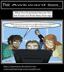 That Awkward Moment: Old Fan Fiction by Expression