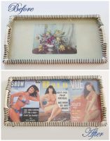 Revamped 1950's tray by rascalkosher