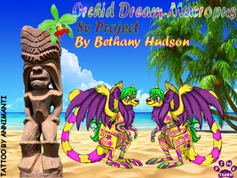 Orchid Dream Macropus Banner made for Bethany by Pinktiger1978