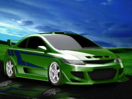 Virtual Tuning - Honda Civic by Shaggy87