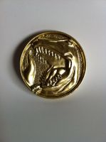 Mighty Morphin' Power Rangers chest coin! by shadowcast89