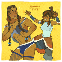 korrlok week pt2 day5 revenge by freestarisis