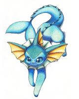 Vaporeon (again) by Togechu