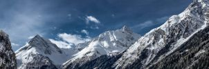 Mountain in Laengenfeld Tirol by Grampyjoe