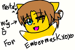 Embermask as Italy.. by goodlucklight