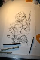 Lady M Ink by devgear