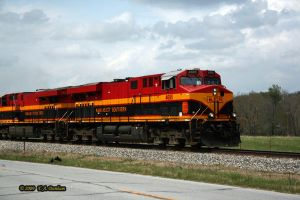 KCS 4695 at Anderson by labrat-78