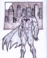 Batman Warmup by Kid-Destructo