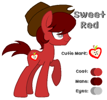 MLP:Sweet Red Profile by kiananuva12