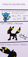 PMD meme - new character by Evildraws