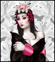 Geisha Girl by VooDoo4u2nv