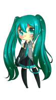 Hatsune Miku by Mango-Star