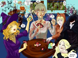 claymore halloween by 4enro