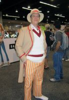 Wondercon'13 5th Doctor by theEmperorofShadows