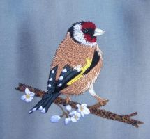 Goldfinch Commission by RuthNorbury