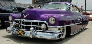 Purple Cadillac by ArtLoverPinUp