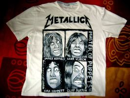 Metallica - T-SHIRT by Red-Szajn