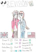 Reno and Vincent _Coloured_ by Phoneix-Faerie