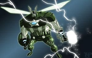 Fandom Moment: Super Adaptoid by tnperkins