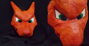 Charizard Mask by CalicoNorth